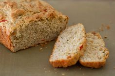 Red Pepper Savory Quick Bread