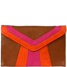 Charlie Colorblock Clutch
