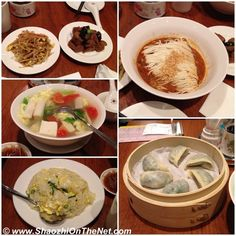 Chinese food at Din Tai Fung restaurant in Taipei