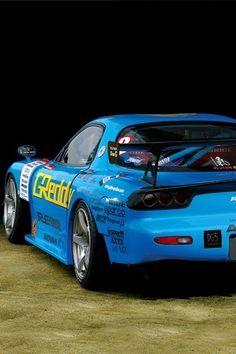 Mazda RX7 Drift Team