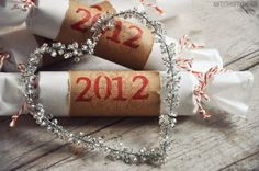 New years eve party poppers