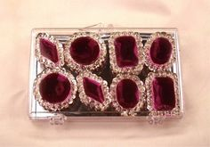 Purple Edible Jewels for Cakes