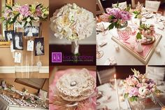 Soft pink wedding...