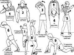 CALENTAMIENTO. Es fundamental calentar siempre antes de realizar cualquier tipo de ejercicio
