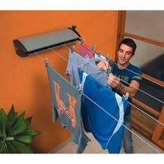 retract clotheslin