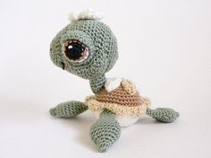 crocheted seaturtle.