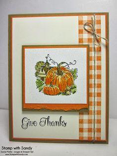 Stamp With Sandy: Best of Autumn Pumpkins, PPA174, FM130, TSTR186