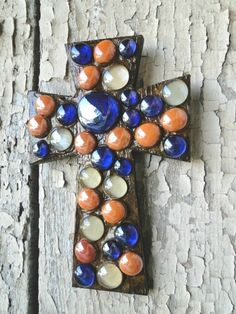 Beautiful Cross in Auburn Colors