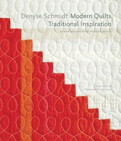 Denyse Schmidt's signature quilting--wishbone, figure eight, loopy, modern twist, or whatever you might call it!