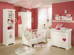 Pretty shade of pink. Baby Girls Room Decorating Ideas Baby Girls Room Decorating Ideas