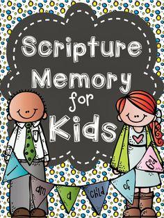 Neat Scripture memory pack!