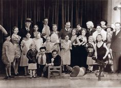 Tod Browning and the cast of Freaks  1932