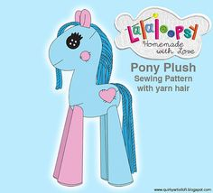 Lalaloopsy  Pony Plush - Sewing pattern