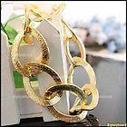 Gold Hoop Bracelet. $6.49, via Etsy.