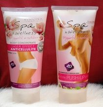 SPA AND WELLNESS LINE FOR BREAST ENLARGEMENT AND ANTICELLULITE $29.99