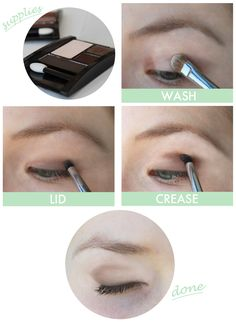 How To: How to Do Natural Eyeshadow #eyes