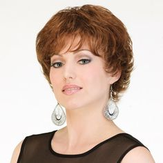 Sheena Wig - Flirtatious and fun! Give yourself a hair fashion boost when you wear this style with beautiful movement and lift. You'll know it's right the moment you put it on.