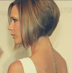 Victoria Beckham A-line Bob Hairstyle...for when I get sick of this long hair ;)