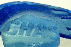 sea glass 5 x 7 print