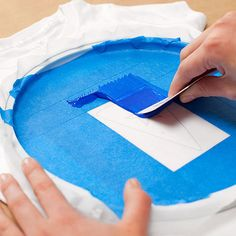 Personalize T-shirts and tote bags with this easy at-home screen printing technique. See step-by-step instructions here: http://www.parents.com/fun/arts-crafts/kid/diy-silk-screen-printing/?socsrc=pmmpin130711cScreenPrint