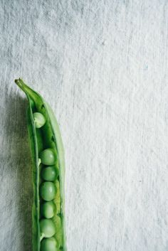 In season - June, peas