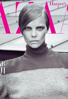 Harper's Bazaar Turkey, starring Dutch beauty Marloes Horst,