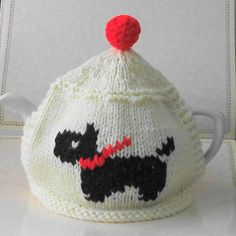 Radley Dog Knitting Pattern : Westie knit on Pinterest Scottie Dogs, Knitting Patterns ...