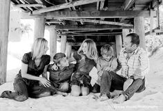 lovely #family shot at the #beach beach fun, kidsfamili photo, the bridge, beach pictur, at the beach, famili shot