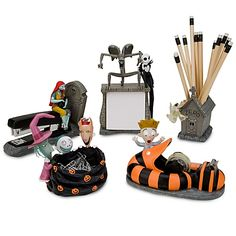 Nightmare Before Christmas Office Desk Set #timburton