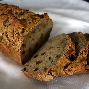 Golden Raisin Zucchini Loaf, Recipe from Cooking.com