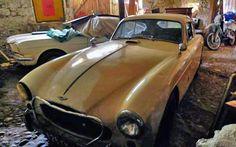 Alpine Find: 1957 Aston Martin DB2/4 - http://barnfinds.com/alpine-find-1957-aston-martin-db24/
