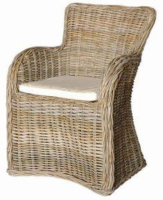 Newport Wicker Dining Chair