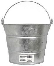 idea, buckets, galvan bucket