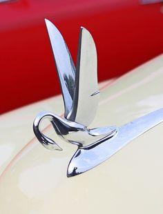 1940s Packard Swan Hood Ornament