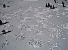carving on snow
