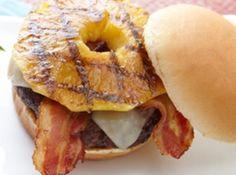 Yum... I'd Pinch That! | Hawaiian Bacon-Pineapple Burger #recipe #justapinch