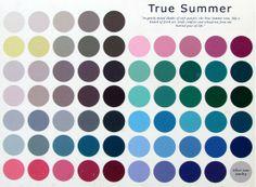 True summer palette