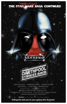 DarthPool Strikes Back by Leigh Jeffery