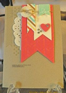Stampin' Up! Card Perfect Pennants