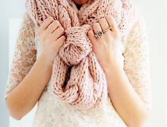 SO comfy... :) #meganandliz #scarf #fashion #style #design #lace #shirt #ring #photography #love #outfitoftheday