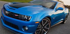 The 2014 Chevy Camero Hot Wheels edition. Check out the video. What a hoot.