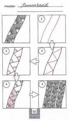 Tangle pattern: Sonn