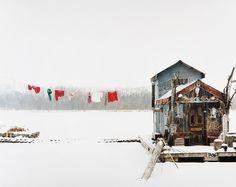 Peter's Houseboat, Winona, Minnesota, 2002. Alec Soth