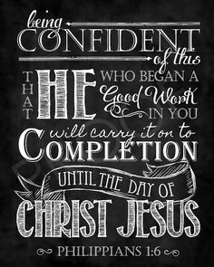 Scripture Art Philippians 16 Chalkboard by ToSuchAsTheseDesigns, $15.00