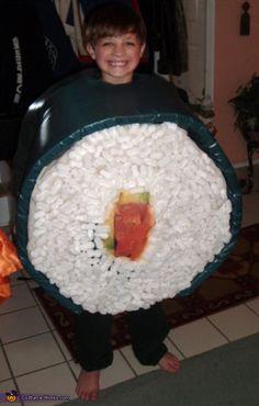 Sushi - Homemade Halloween Costume    #Halloween #halloweencostumes
