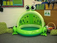 Clutter-Free Classroom: frogs