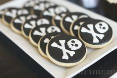 skull cookies by Ashleigh30, via Flickr