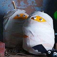 The Great Pumpkin: 11 Creative Pumpkin Crafts: Tightly Wound