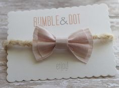 vintage bow baby girl piece