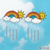 Rainbow Suncatcher Craft from Oriental Trading Company